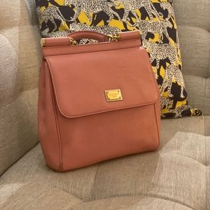 Dolce&Gabbana Medium Sicily Leather Crossbody Bag
